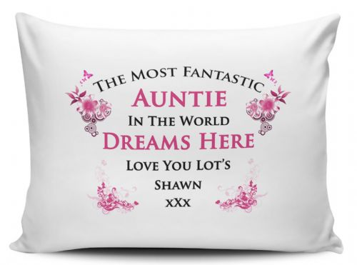 Personalised Any Name Most Fantastic In The World Pillow Case